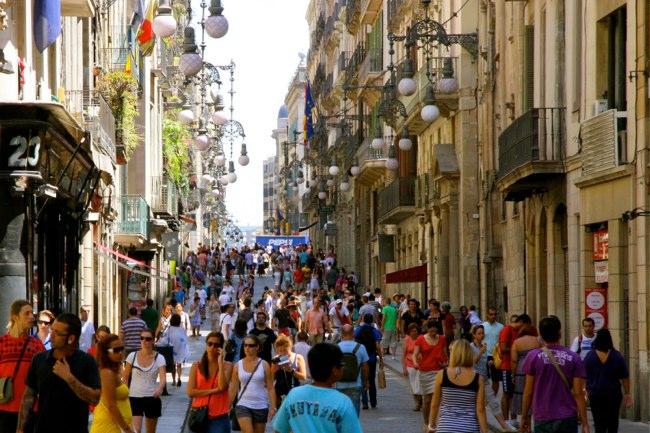 calles compras barcelona